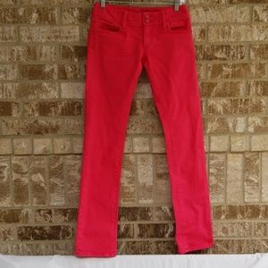 Lilly Pulitzer Pink Worth Straight Jean Size 0